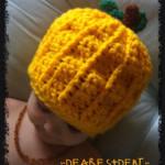 A pumpkin hat…