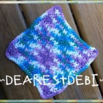 Easy Peasy Dishcloth - Dearest Debi Patterns