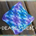Easy Peasy Dishcloth - Dearest Debi Patterns