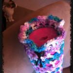 Crochet Yoga Mat Bag - Dearest Debi Patterns