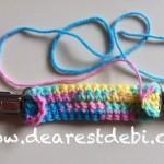 Mittens/Pant Crochet Clip - Dearest Debi Patterns