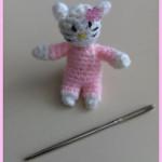 Mini Hello Kitty Inspired Amigurumi - Dearest Debi Patterns