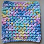 Quick & Easy Crochet Dishcloth - Dearest Debi Patterns