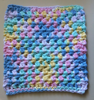 Simple Dishcloth Crochet Pattern Free : Alfa img - Showing > Simple Crochet Dishcloth Pattern