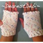 Fingerless Gloves - Dearest Debi Patterns