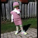 Little Miss Yarn Ruffles - Dearest Debi Patterns