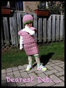 Little Miss Lady Jane Dress - Dearest Debi Patterns