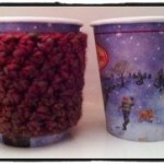 Stop Double Cupping. Crochet Coffee Cozy - Dearest Debi Patterns