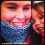 Star Burst Crochet Cowl - Dearest Debi Patterns