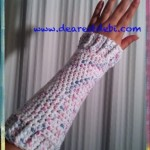 Crochet Wrist Warmers - Dearest Debi Patterns