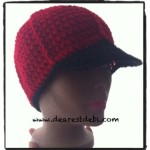 Mens Crochet Ball Cap