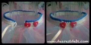 Crochet Tutu Waistband - Dearest Debi Patterns