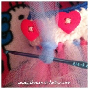Crochet Tutu Waistband - Dearest Debi Patterns