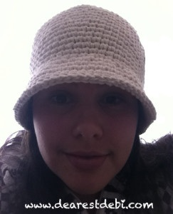 Cotton Crochet Hat - Dearest Debi Patterns