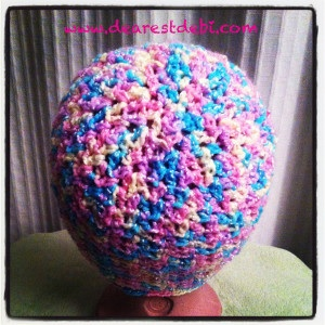 baby soft crochet chemo cap - Dearest Debi Patterns