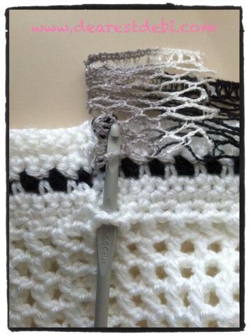 Crochet Ruffle Skirt - Adjustable pattern by Dearest Debi
