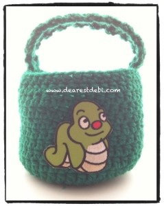 Crochet Boys Basket - Dearest Debi Patterns