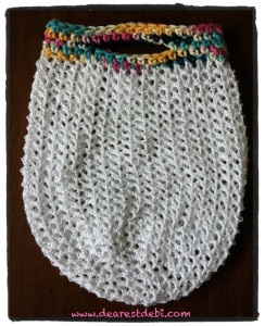 Fancy Crochet Market Bag - Dearest Debi Pattern