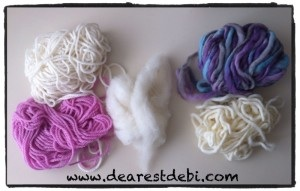 Types of wool to make wool dryer balls