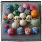 Wool Dryer Ball - Make your own tutorial by DearestDebi