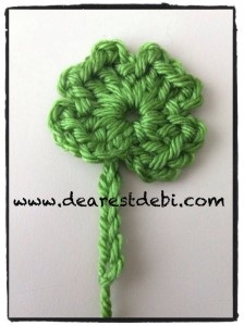 Crochet Four Leaf Clover - Dearest Debi Patterns