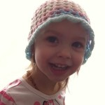Crochet 3D Flower Beanie – Toddler