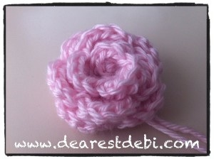 Crochet Rosette - Dearest Debi Patterns