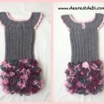 Crochet Dress – Little Miss Ruffles