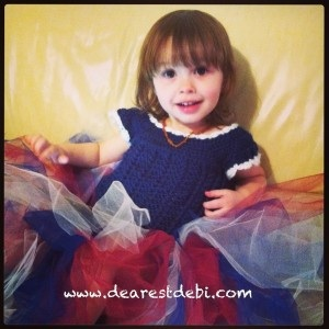 Crochet Dress - Little Miss Tutu - Dearest Debi Patterns