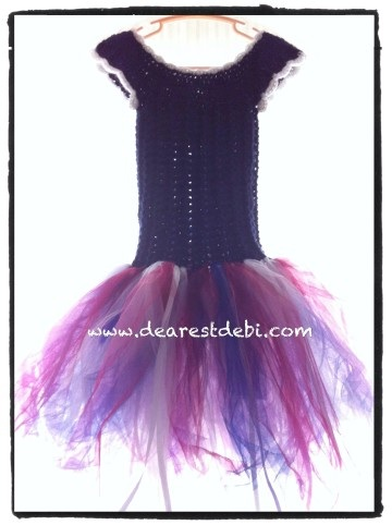Little Miss Tutu - Dearest Debi Patterns