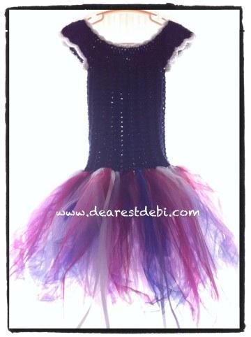 Crochet Dress - Little Miss Tutu - Dearest Debi Patterns