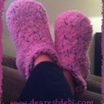 Soft Snuggly Slippers - Dearest Debi Patterns