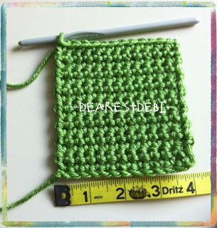 Yarn Weights and Gauge - Dearest Debi Crochet Resources