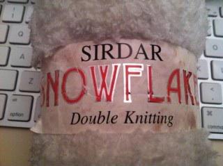 Sirdar Snowflake Yarn