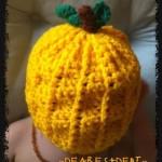 A Pumpkin Hat - Dearest Debi Patterns
