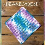 Easy-Peasy Dishcloth by DearestDebi