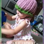 Watermelon Beanie - Dearest Debi Patterns