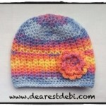 Crochet Baby Chemo Cap - Dearest Debi Patterns