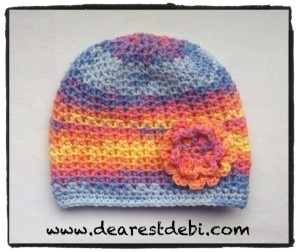 Crochet Baby Chemo Cap Dearest Debi Patterns