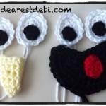 Crochet Sesame Street Fun Fur Characters - Dearest Debi Patterns