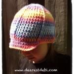 Crochet Toddler Ball Cap