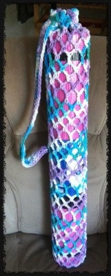 Free Crochet Pattern Yoga Mat Bag : Crochet Yoga Mat Bag - Dearest Debi Patterns