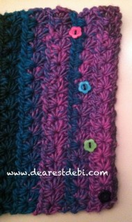 Aurora Star Cowl - Dearest Debi Patterns