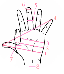 How to measure your hand - Dearest Debi Patterns