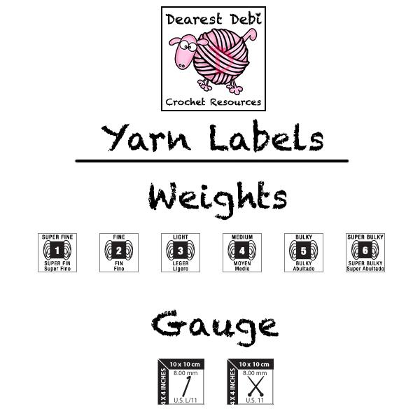 Understanding Crocheting : Understanding Yarn Labels Crochet Resources by Dearest Debi