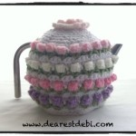 Crochet Rose Bud Tea Cozy