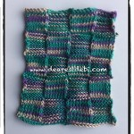 Knit Purl Dishcloth - Dearest Debi Patterns