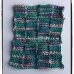 Knit Purl Dishcloth - Dearest Debi Patterns