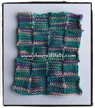 Knit Purl Dishcloth