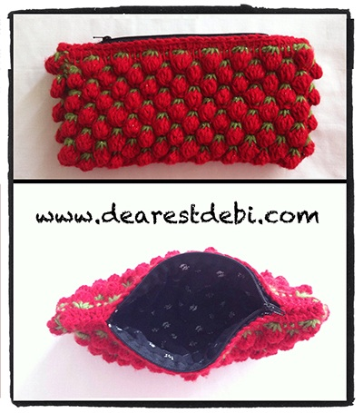 Tunisian Crochet Berry Stitch - Dearest Debi Patterns